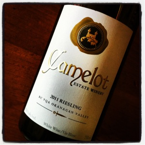 Camelot Vineyards 2011 Riesling