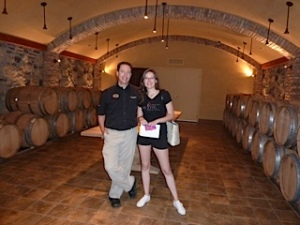 Visiting wineries in the Okanagan, Summer 2013