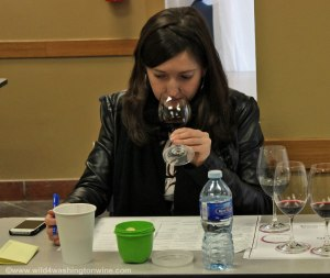 Attending the Vancouver Int'l Wine Festival Blind Tasting Challenge February 2013
