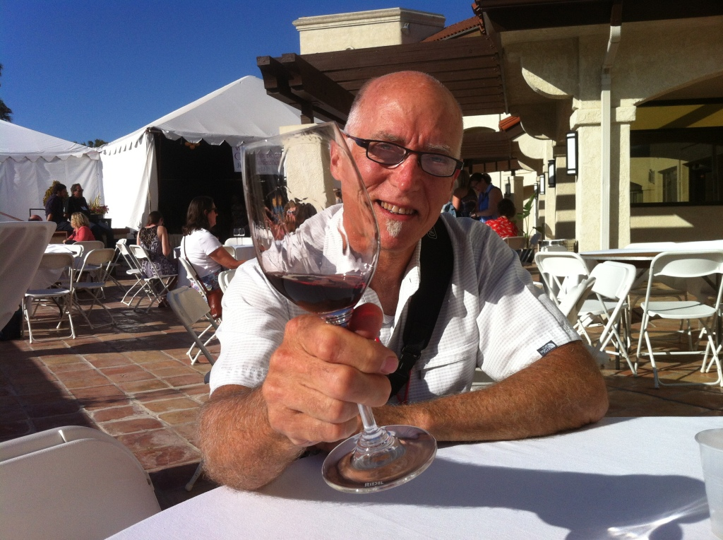 Ken Trimpe of Decanter Banter Copyright © 2014 Valerie Stride