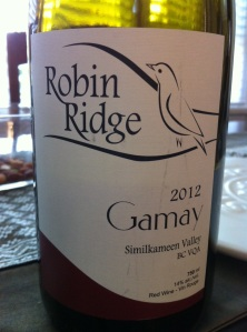 2012 Robin Ridge Gamay