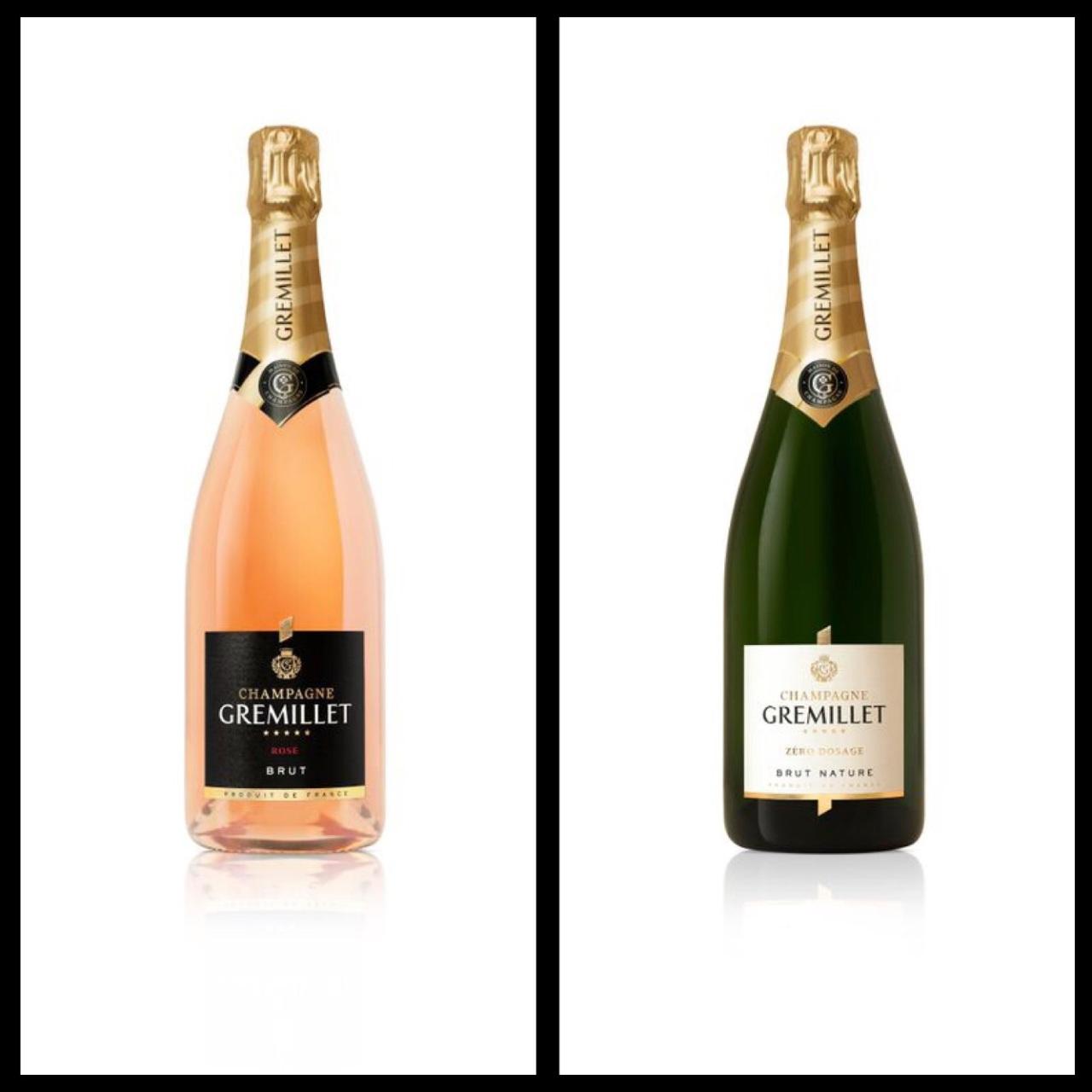 Bottle Photos Courtesy of Champagne Gremillet