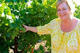 Sue Tipton in Vineyard